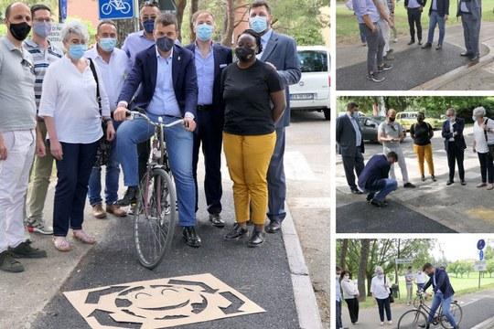 Dal settore Strade del DICAM una pavimentazione ciclo-pedonale urbana più sostenibile e sicura