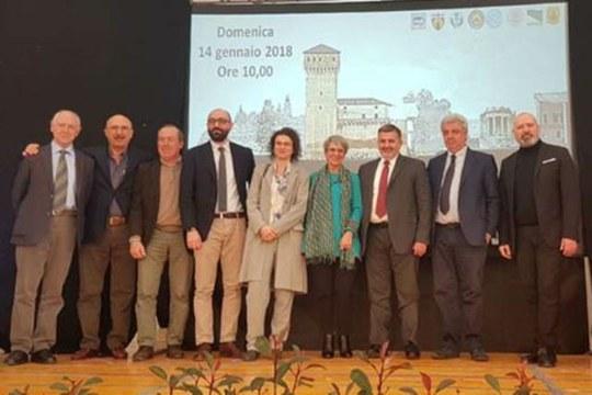 Il Dott.Ing. Giovanni Castellazzi ha presentato gli studi di recupero per la Rocca Estense di San Felice sul Panaro